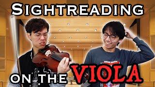 Sightreading Viola Pieces on the Viola