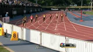 Allyson Felix wins 400m in Grand Prix from Universal Sports
