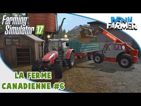 Farming Simulator 17 | La Ferme Canadienne | Épisode 6 | Le Fumier!