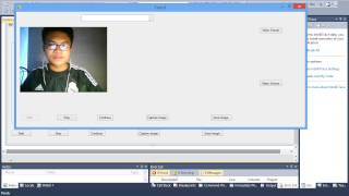 auto capture camera C# interface serial comport pic16f877 save image in drive