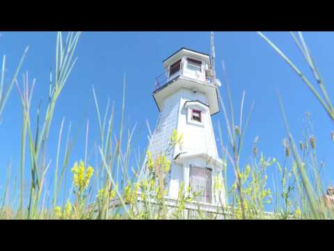 Saskatchewan's Only Lighthouse Gets A Facelift