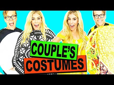 BEST COUPLE'S HALLOWEEN COSTUMES PICKED BY FANS!!  2017