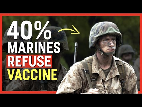 Why Are Nearly 40% of Marines Declining the Shot? | Facts Matter