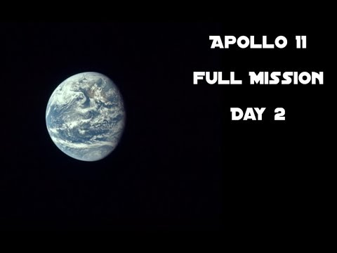 Apollo 11 - Day 2 (Full Mission)