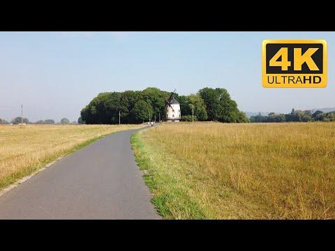 Elberadweg (Elbe Cycle Route) from Dresden to Meissen (4K) HDR - Bike ride during COVID-19