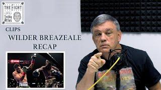 Wilder Breazeale Fight - Teddy Atlas Gives Full Fight Recap | CLIP