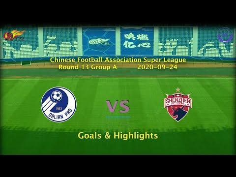 Dalian Pro Shenzhen Goals And Highlights