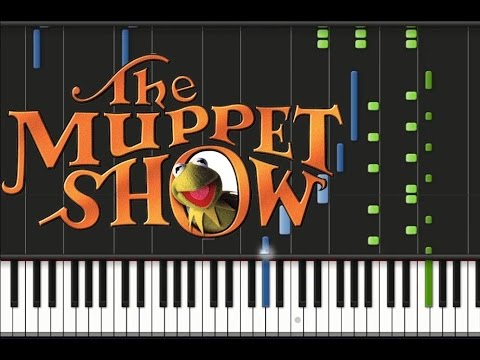 The Muppet Show - Theme Song [Synthesia Tutorial]