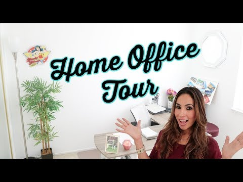 Real Estate Agent Home Office Tour