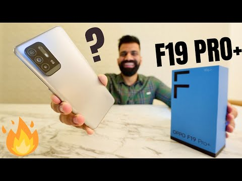OPPO F19 Pro+ 5G Unboxing & First Look   Dimensity 800U 5G   50W   AI Video