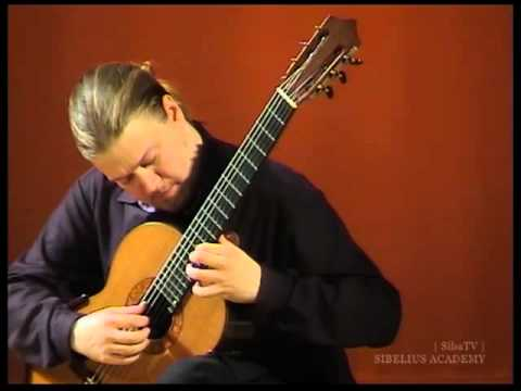 Erik Satie - Gnossienne 1---Otto Tolonen, guitar