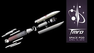 The New Vulcan Rocket - Space Pod 04/14/15