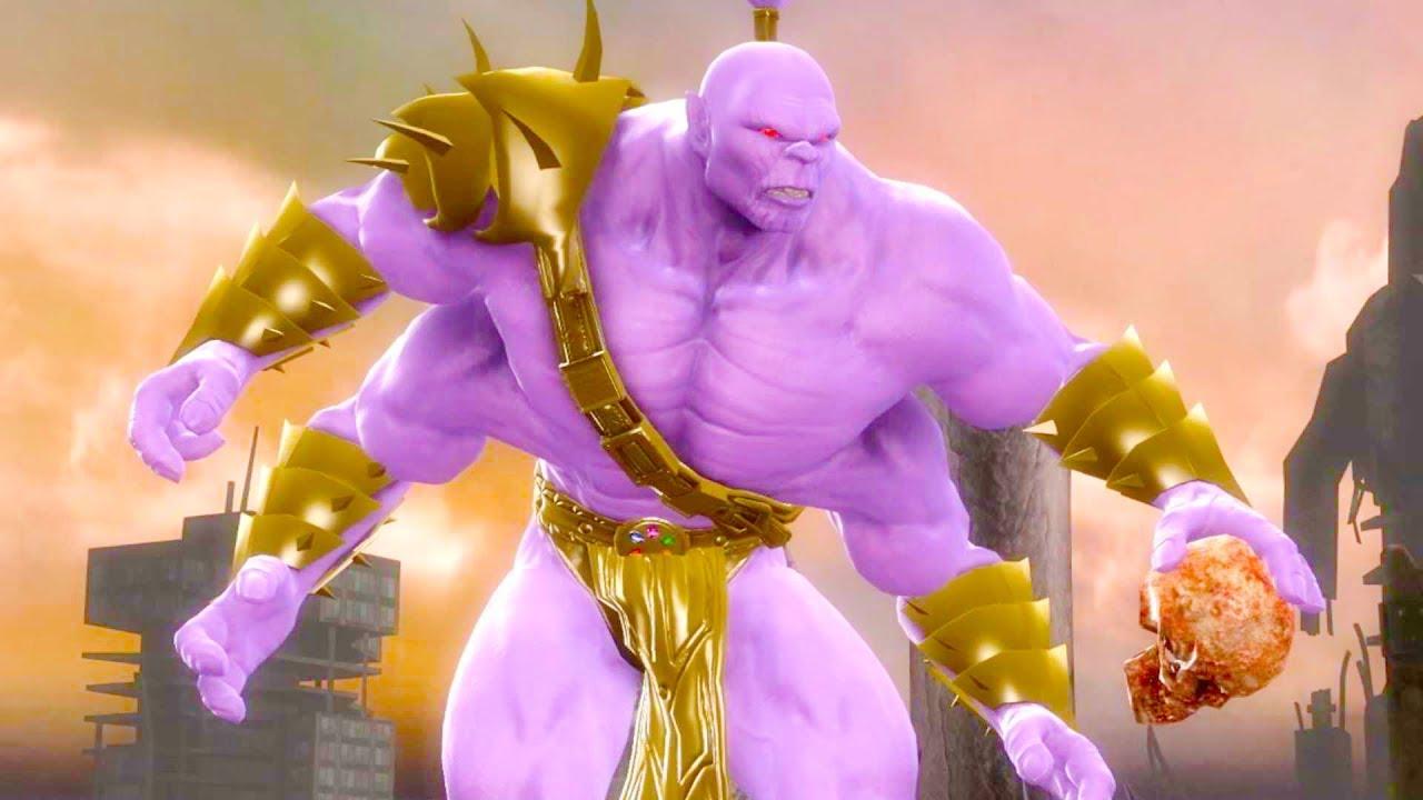 Mortal Kombat Komplete Edition - Thanos Goro PC Mod Arcade Ladder Gameplay  Playthrough