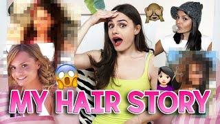 💇🏻MY HAIR STORY 👱🏻♀️ capelli a spazzola, tinte, extension 😱🙅🏻