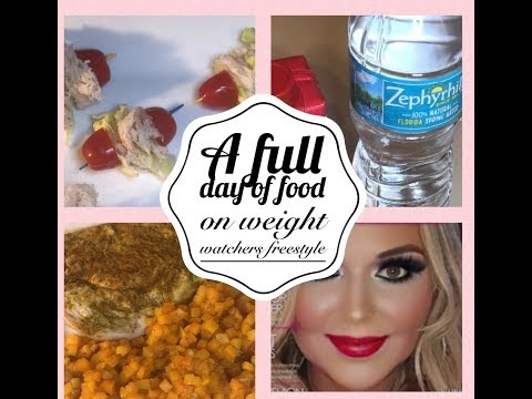 Weight Watchers Freestyle  - Full Day of Food - Eating for Weight Loss