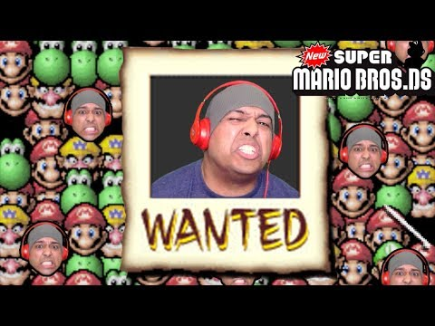 THIS MARIO GAME HAS MINI GAMES TOO!? [NEW SUPER MARIO BROS. DS] [#02]
