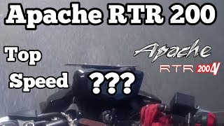 Apache RTR 200 top speed test | with pillion & without pillion | pahadi riders
