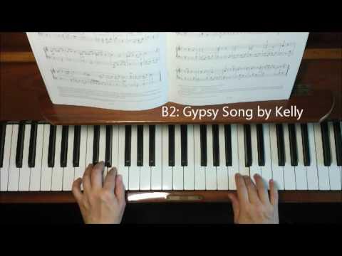 ABRSM Piano Exam 2017-2018 Grade 1 List B