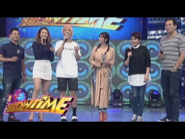 It's Showtime: Jhong shows his new shoes from Vice