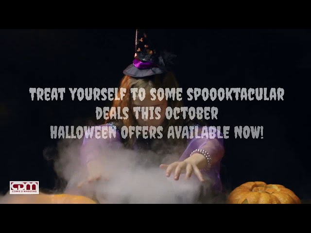 Corrie D Marketing Halloween Offer Promo Video