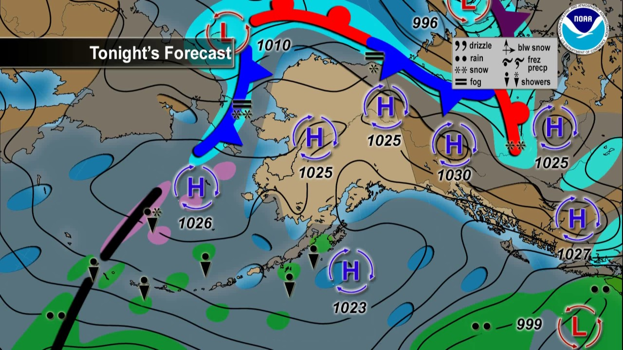 January 09 2017 Alaska Weather Daily Briefing Youtube