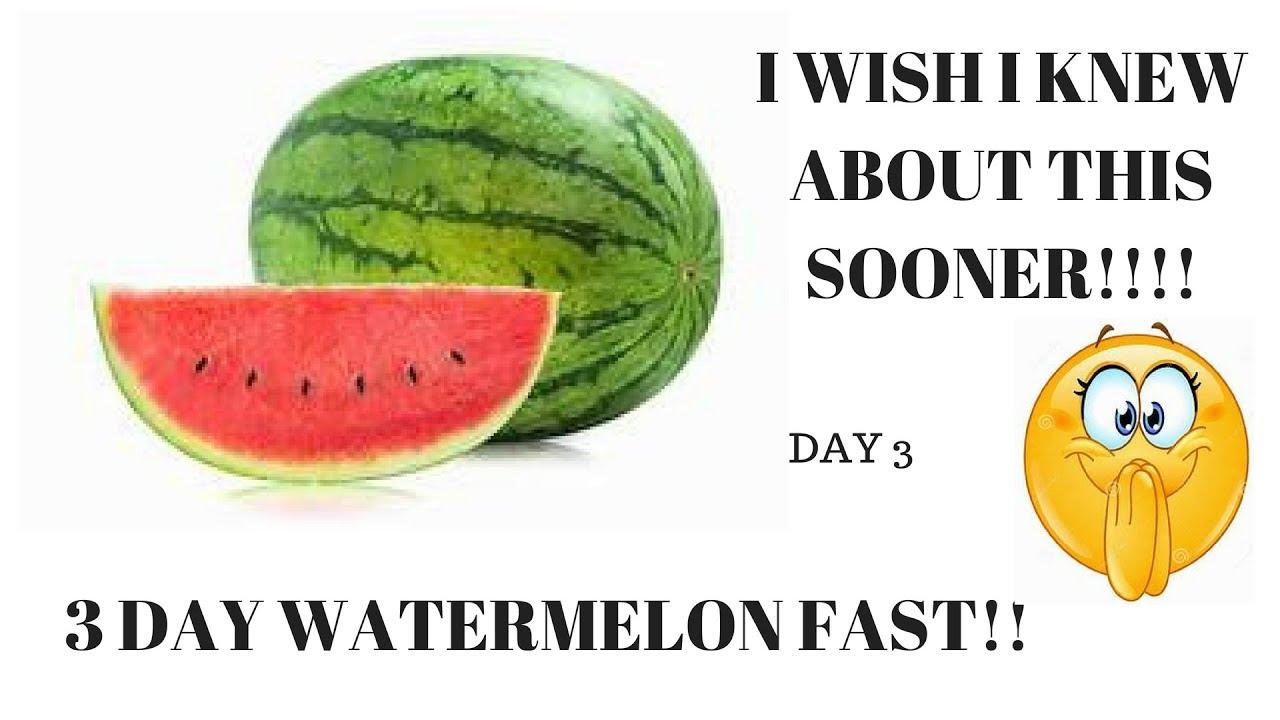 watermelon diet for 3 days