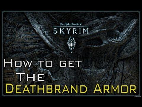 The Elder Scrolls: Skyrim - How to get the Deathbrand Armor(Dragonborn DLC) |