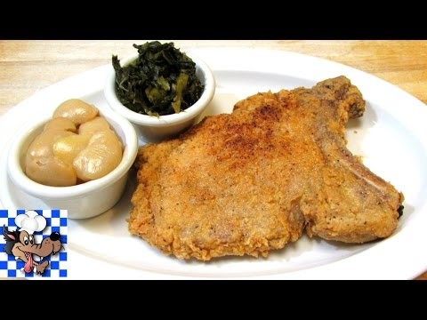 Southern Fried Pork Chops - Pork Chop Recipe