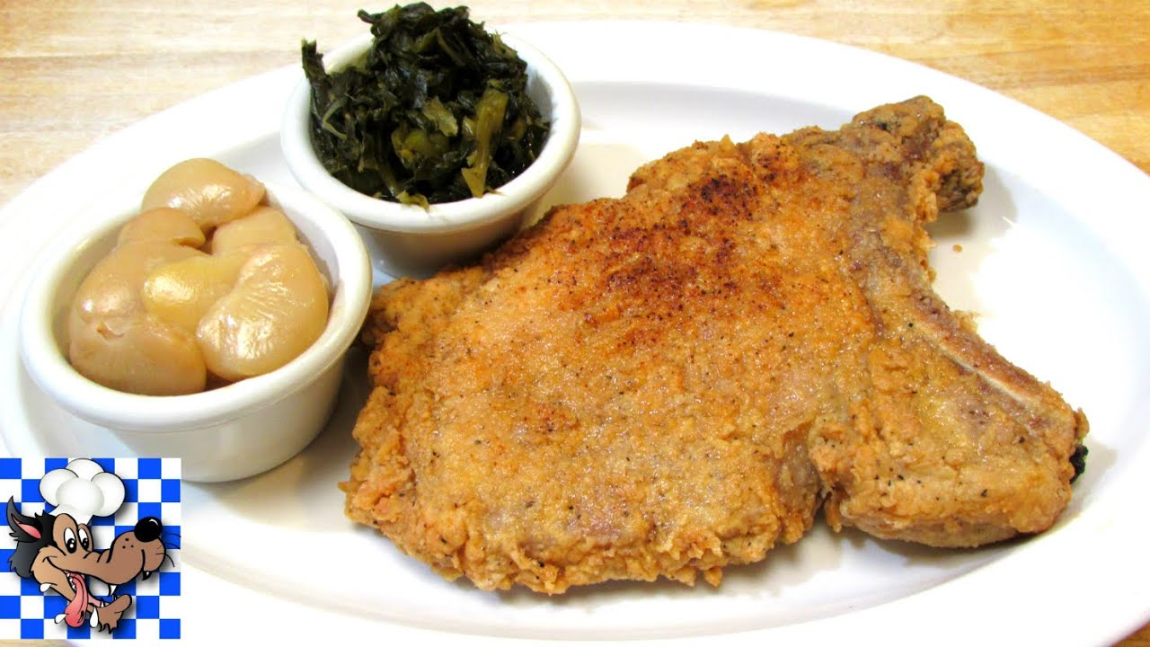 Homemade breaded pork chops recipe
