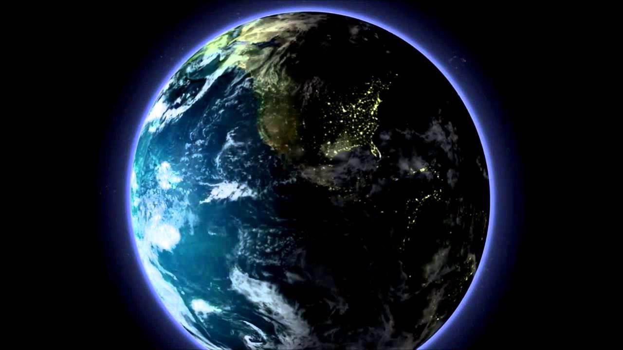 globe terrestre qui tourne