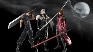 Final Fantasy VII Crisis Core Sephiroth vs Genesis and Angeal (sub español)