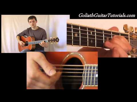 How To Play All My Days (Alexi Murdoch) Part 2