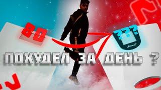 постер к видео КАК ПОХУДЕТЬ НА 10 КГ ЗА СУТКИ