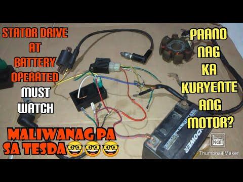 Bakit Nag-kakaroon ng Kuryente Ang Stator Drive at Battery Operated na Motor?
