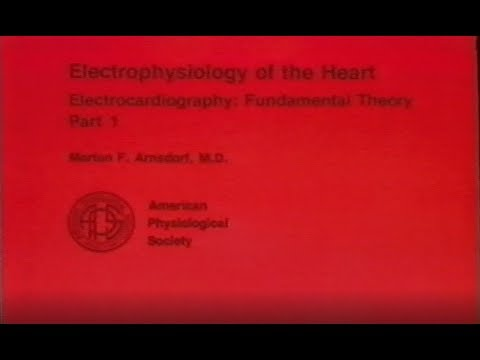 Electrophysiology of the Heart - Electrocardiography Fundamental Theory Pt 1 Vol 1108