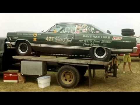 Haulin' Drag Cars In The '60s
