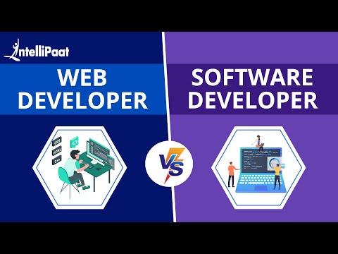 Web Development vs Software Development   Difference Web Development & Software Development