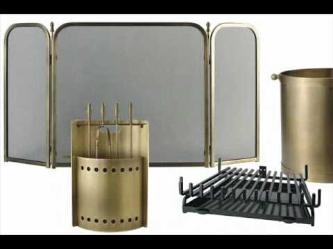Fireplace accessories Fireplace screens glass Fireplace Grates