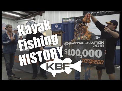 First $100,000 Kayak Fishing Tournament | 2018 KBF NATIONAL CHAMPIONSHIP
