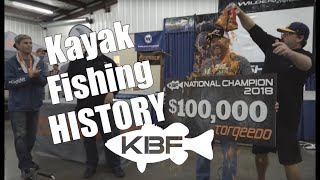 First $100,000 Kayak Fishing Tournament | 2018 KBF NATIONAL CHAMPIONSHIP