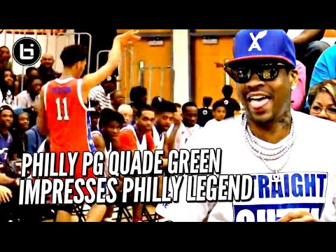 Allen Iverson IMPRESSED By Quade Green & Matt Coleman at First Ever AI Roundball Classic!!