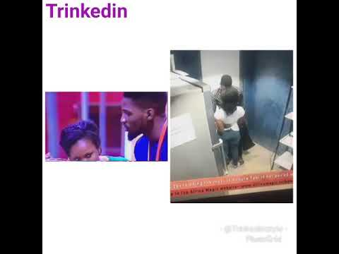 Big Brother Naija- Tobi shot enters goal post