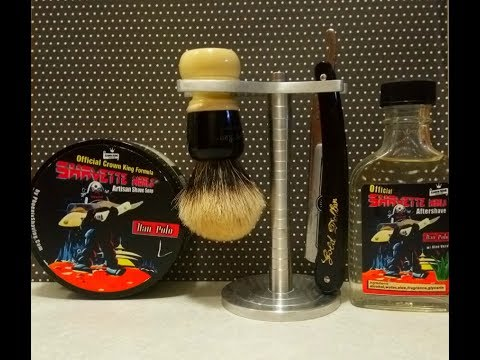 Gold Dollar 66, Shavette World Han Polo soap and aftershave