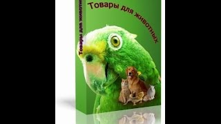 Готовый магазин для домашних животных
