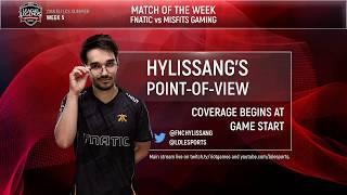 POV Stream | FNC Hylissang | Week 5 | EU LCS Summer Split (2018) thumbnail