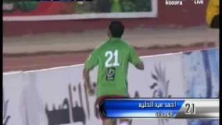 أحمد عبد الحليم  والنظرة الثاقبة لسنافر -  wehdat 1-0 faisaly* 2010