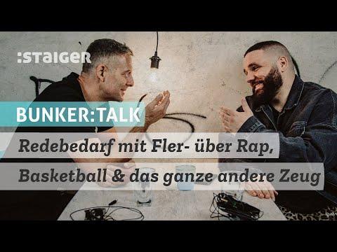 Redebedarf mit Fler- über Rap, Basketball & das ganze andere Zeug #bunkertalk