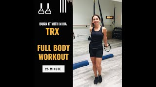 Advanced TRX Full Body Workout