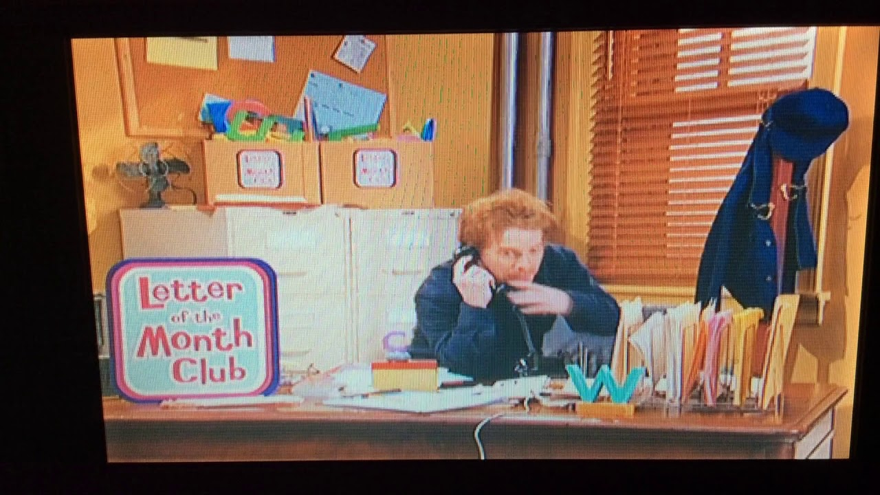 Sesame Street The Letter Of The Month Club.The Letter Of The Month Club Part 1