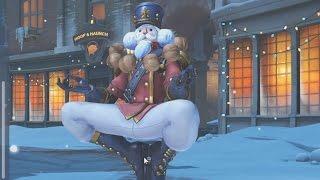 Nutcracker Zenyatta! All Christmas Overwatch Skins - New festive Holiday